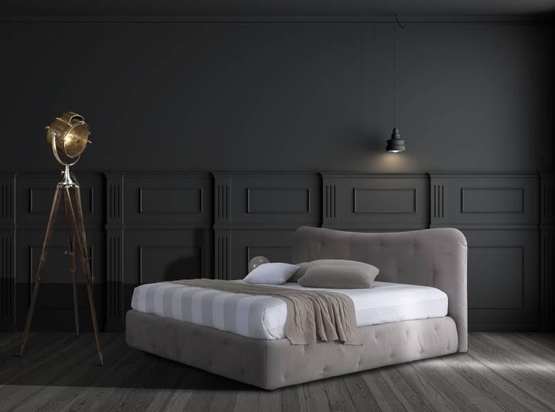 upholstered beds giessegi italy top design
