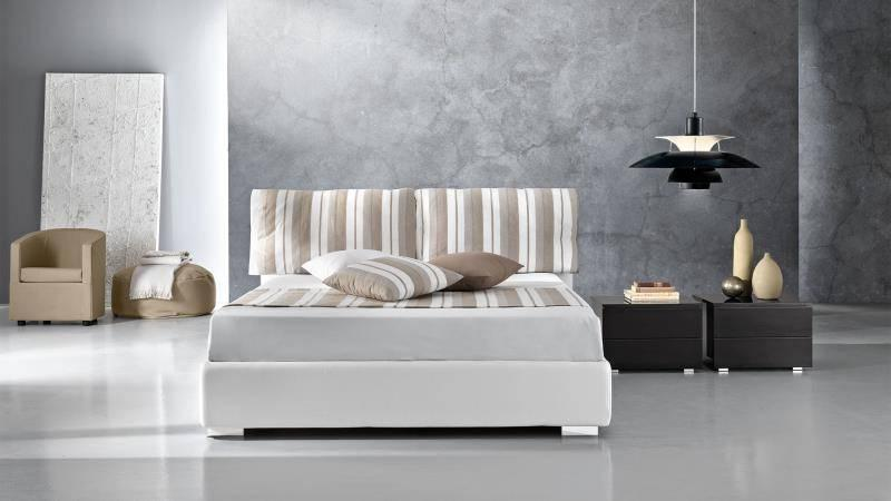 upholstered beds giessegi italy top design cloud