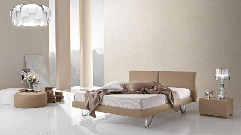 upholstered beds giessegi italy top design double