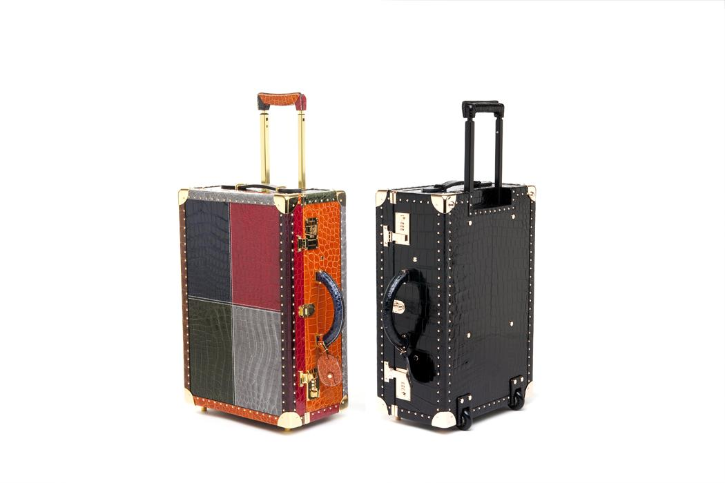 elite luxury accessories color croc luggages