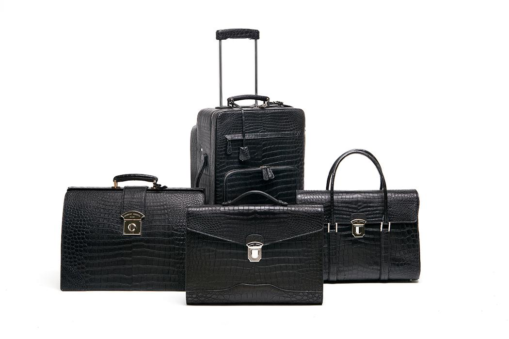 elite luxury accessories croc travel set