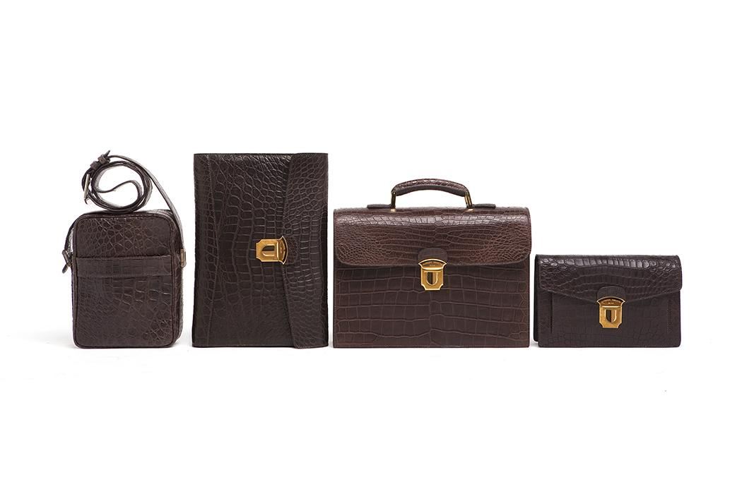 elite luxury accessories men briefcases
