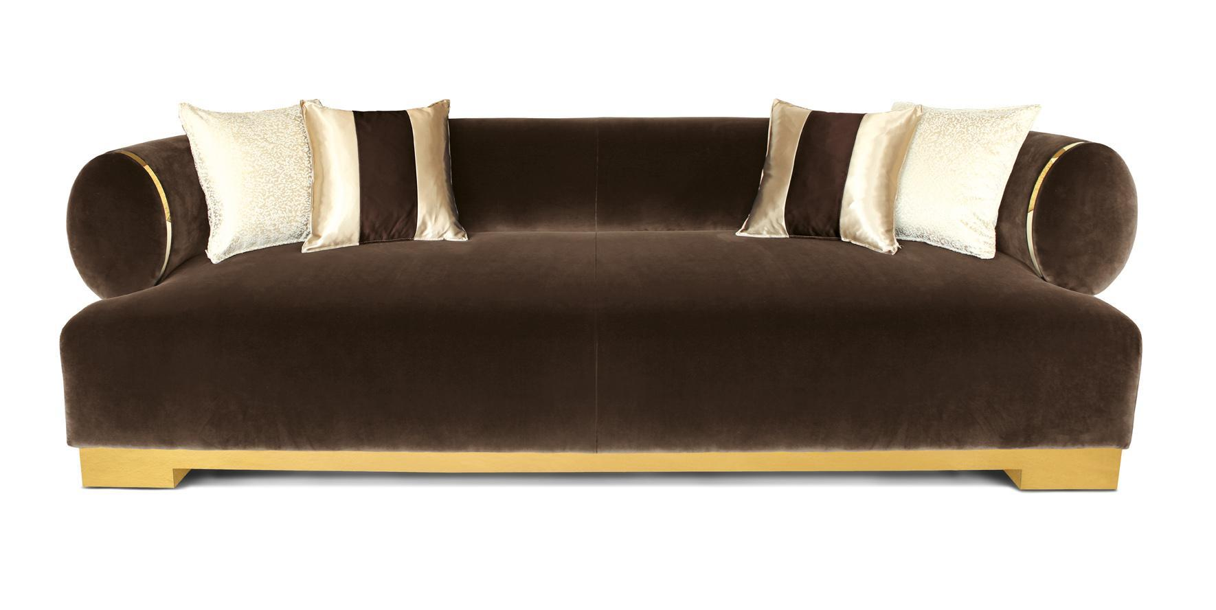 upholstered couch italy top design dorado